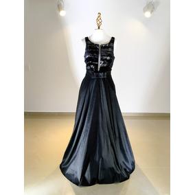Vestido Noche Negro Rue De La Paix