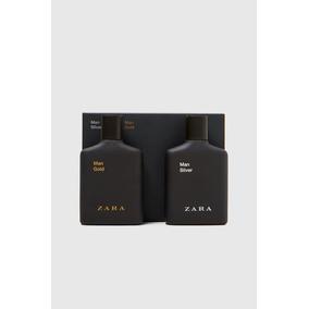 Kit 2 Perfume Zara Man Masculino Gold E Silver De 100ml Cada