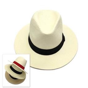 Chapéu Moda Panamá Aba Larga Masculino Feminino Praia Casual · 4 cores. R   59 06d07b5fdbb
