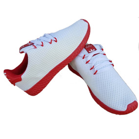 pretty nice a2595 ea332 Estado De México · Tenis A.d.i.d.a.s. Pharrell Williams Blanco rojo