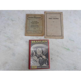 Lote 3 Livros Antigos Alemao Um Do Ano 1932 Barato