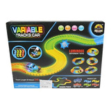 Pista Variable Luminous Luz Gd217 Carros Autos Magic Track