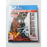 Metal Gear Solid 5 V Juego Ps4 Nuevo Y Sellado