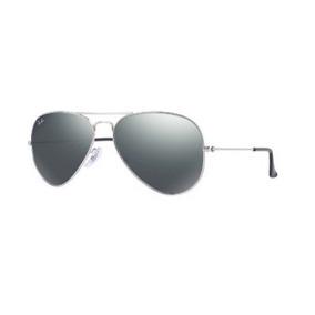 cdf9f673023b8 Oculos Aviador Prata De Sol - Óculos no Mercado Livre Brasil