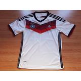 Camisa Da Alemanha Seleção Alemã Listrada Rubro Negra Copa no ... cd6343eb64e69