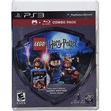 Combo Juego+blueray + Harry Potter1 Lego , Ps3, Buen Estado