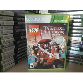 Jogo Lego Disney Piratas Do Caribe Xbox 360 Original Leia...