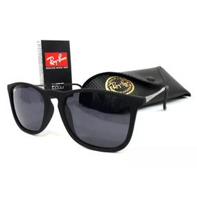 Óculos De Sol Rayban Chris Rb4187 Preto Emborrachado 9d131c130d