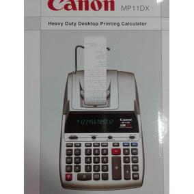 Sumadora De Escritorio Canon Mp11dx