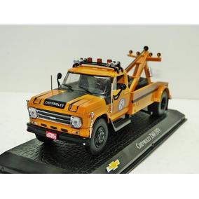 Miniatura Caminhão Chevrolet D60 Guincho Coleção Reboque