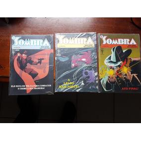 O Sombra! Mini Série Completa! 3 Volumes! Ótimo!