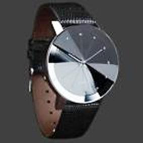 Relógio Quartz, Pulseira Tipo Couro, Masculino