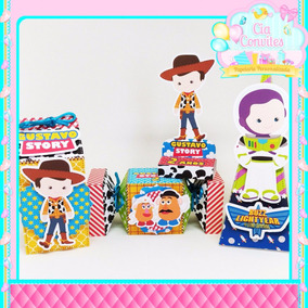 Scrapbook Kit Lembrancinha 3d Toy Story - 150 Itens