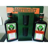 575cbf36220 Licor Jagermeister Pack 2x500 Ml + 2 Shots Brinde Lacrado