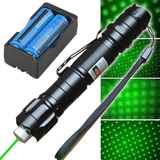Kit Puntero Laser Verde Waterproof Beam Professional 1mw 532