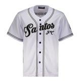 Camisa Kappa Baseball Santos Branca Nº 09