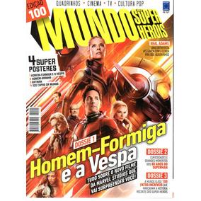 Mundo Dos Super-herois 100 - Europa - Bonellihq Cx401 I18