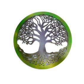 Quadro Árvore Da Vida 40 X 40 Cm Celta