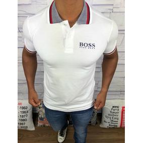 Camisa Pólo Slim Fit Lançamento Exclusivo Com Frete Grátis - Pólos ... f4725bfa12