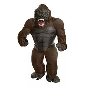 Disfraz Botarga King Kong Envio Inmediato Inflable