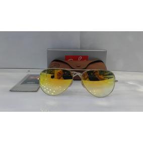 Ray Ban 3025 Aviator Dourado Lentes Marrom Degrade - Óculos no ... 4b94c08f23