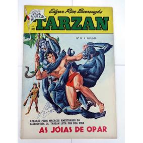 Tarzan Lança De Prata Nº 32: Russ Manning - Opar - Ebal 1968