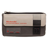 Billetera Mujer Nintendo Nes Consola