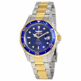 Reloj Invicta Pro Diver Hombre Acero Inoxidable 18k Oro 8935