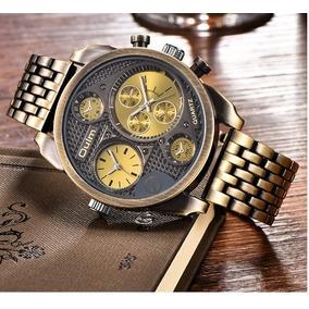 d4798e93e4a Vidro Relogio Oulm 3548 - Joias e Relógios no Mercado Livre Brasil