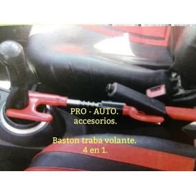 d8cbb6849 Baston Seguridad Automovil Universal 4en1 Resistente Acero.