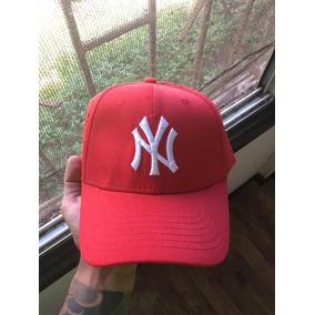 Gorro Jockey Dadhat Ajustable Mlb New York Ny Rojo 938adb590d3