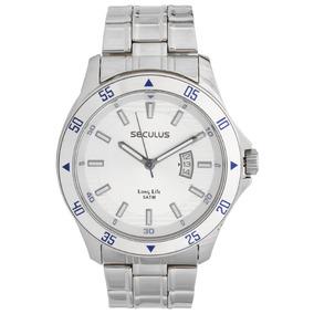 Relógio Seculus Masculino Long Life 28807g0svna1