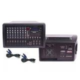 Consola Potenciada Blg Mc 82150 Mixer 8 Canales 300w.