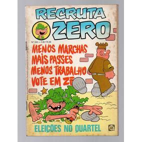 Hq Recruta Zero - Nº 243 - Rge - 1982