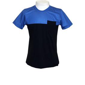 2134bd0b1f Camisa Slick Tee Azul Tam - Camisas no Mercado Livre Brasil