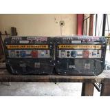 2 Generadores De Energía, Motosierra Y Soldadora