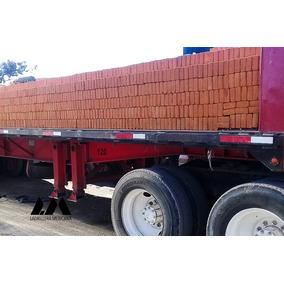 Ladrillo Rojo De Barro 6x12x24 Cm Por Millar