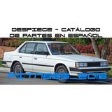 Manual Despiece Catalogo Toyota Corona Fr 1982 - 1999 Españ
