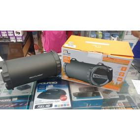 Caixa De Som Bazooka Bluetooth/fm/sd/usb/p2 20w Multilaser