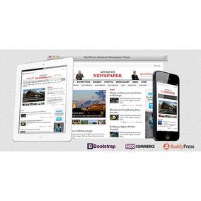 Tema Premium Wordpress Advanced Newspaper
