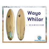 Tabla De Surf Wayo Whilar / Ssuks Surfshop Barranco Peru