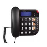 Telefone Fixo De Mesa Com Bina Intelbras Tok Fácil Id Visor