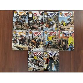 Hq: Tex Platinum - Kit Com 10 Revistas Novas - Frete Grátis
