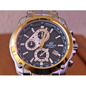 9659114701d3 Relógio Casio Edifice 558 Série Ouro Novíssimo - Relógios De Pulso ...