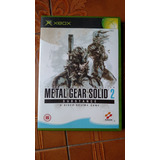 Metal Gear Solid 2 Orig Europeo Para Xbox Clasica. Kuy