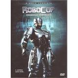 Dvd - Robocop - As Primeiras Diretrizes - 4 Discos