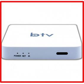 Reprodutor De Mídia Btv 10 Smart Media Box Super Branco