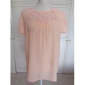 Blusa Color Melón,talla M, Nueva, Mide A-a 50 Cm