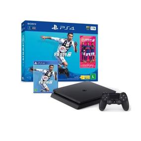Playstation 4 Slim Ps4 1tb Sony Fifa 2019 Barato