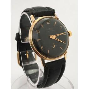 e11ecc586ed Relógio Ouro 18 K Plaquê Suiço Fleur Cal Arogno 151 De 1950